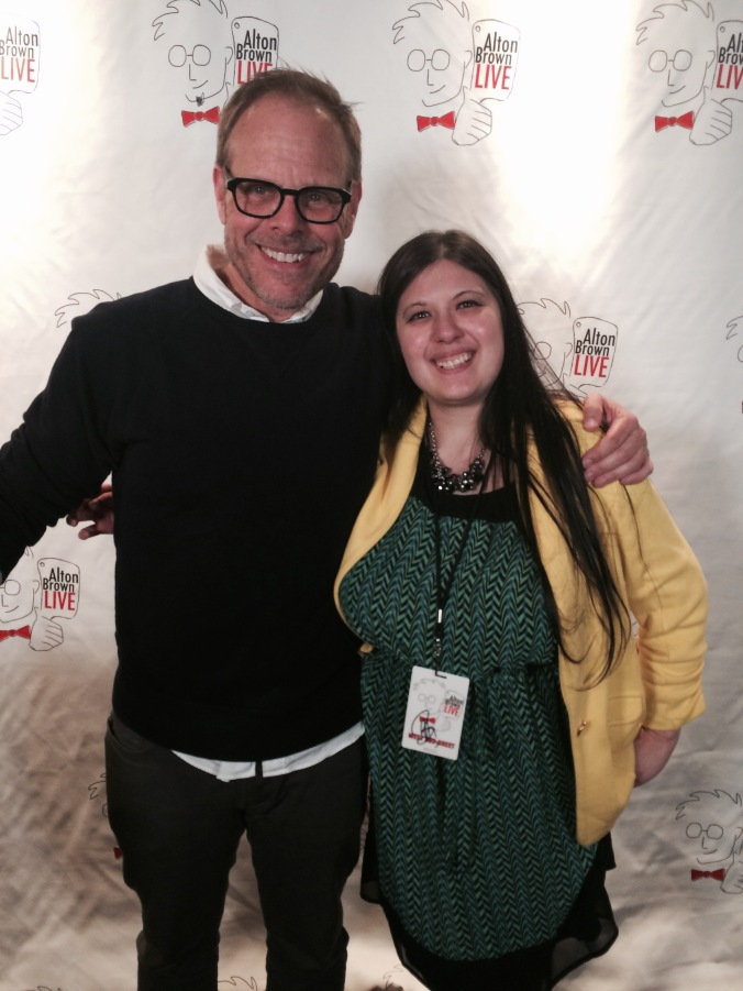 I just died and went to food network heaven. Me with Mr.Good Eats, Alton Brown!