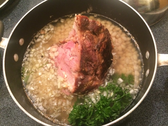 ham bone soup stock