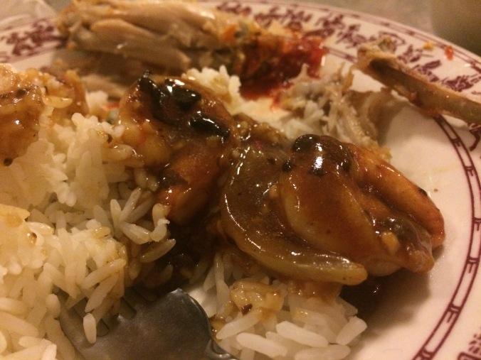 Garlic shrimp, one of Bruce Lee's favorites